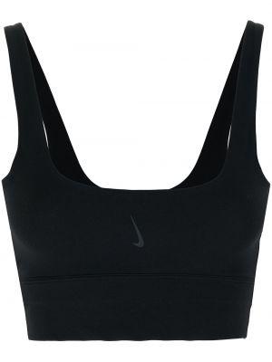 Укороченный топ - черный Nike