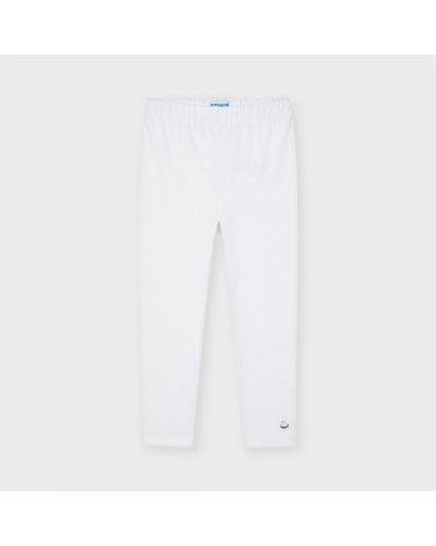 Białe legginsy Mayoral