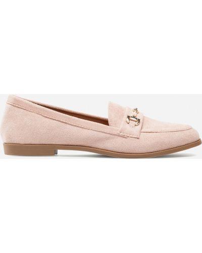 Лоферы - розовые Deezee