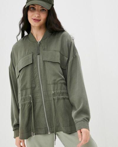Облегченная куртка хаки Ichi