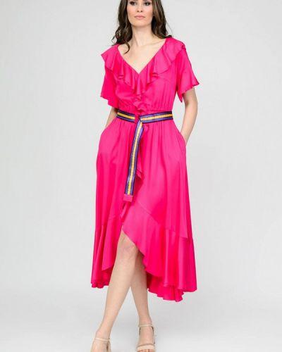 Розовое платье Raslov