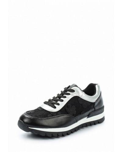 Черные кроссовки Rio Fiore