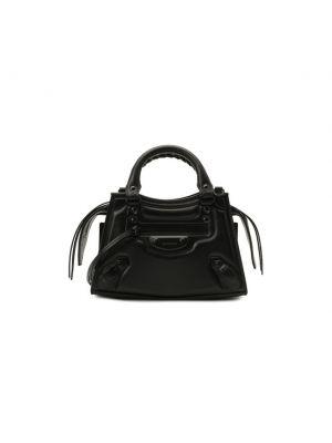 Черный топ классический Balenciaga