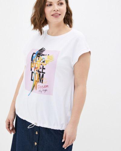 Белая футболка с короткими рукавами Le Monique