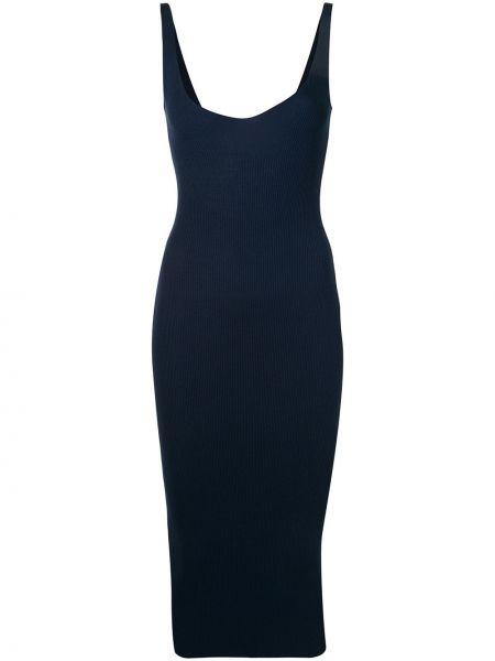Синее платье с вырезом Walk Of Shame