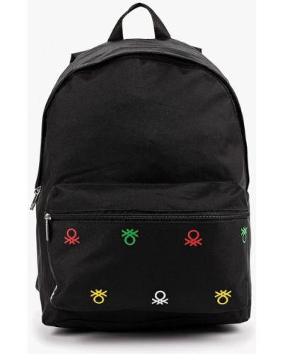 Черный рюкзак United Colors Of Benetton