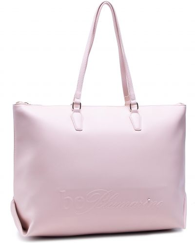 Różowa torba na ramię Blumarine