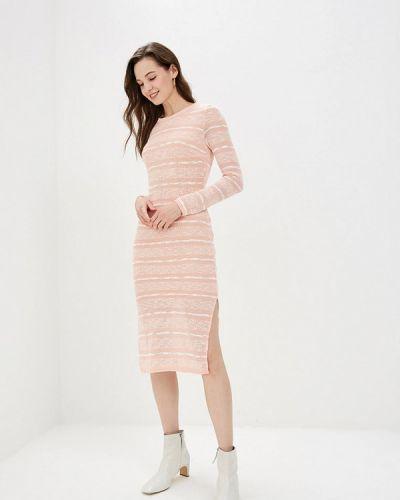 Платье розовое вязаное Gepur