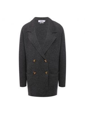 Шерстяной пиджак - серый Not Shy