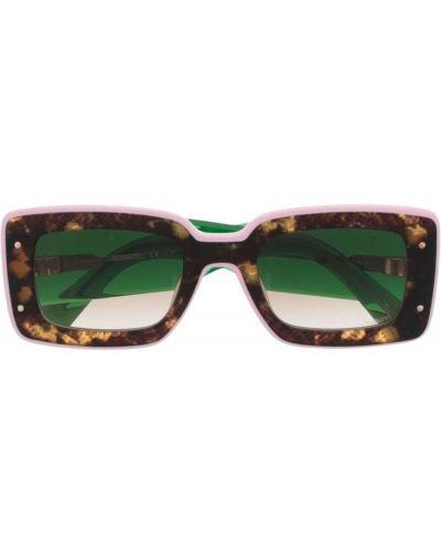 Zielone okulary Missoni