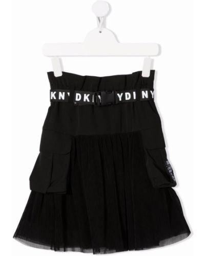 Czarna spódnica tiulowa Dkny Kids