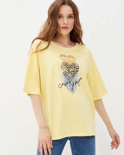 Желтая футболка с короткими рукавами D.s
