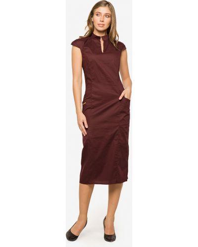 Платье футляр - красное Modniy Oazis