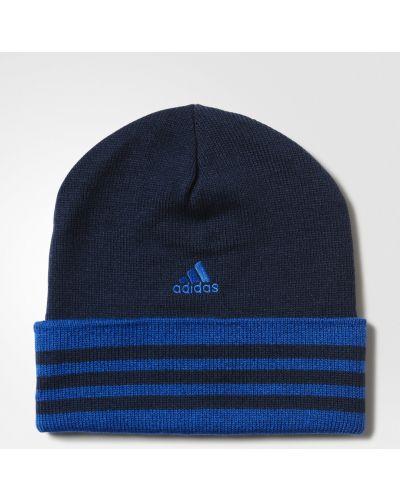 Спортивная шапка - синяя Adidas