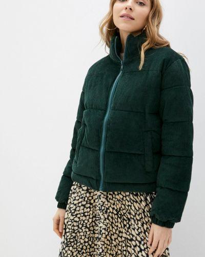 Зеленая утепленная куртка Haily's