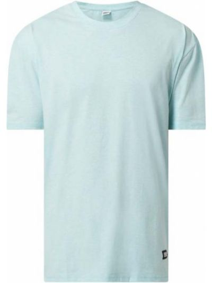 Niebieski t-shirt bawełniany miejski Urban Classics