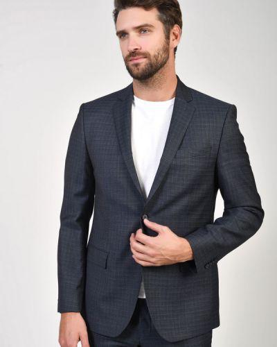Шерстяной серый пиджак Daniel Hechter