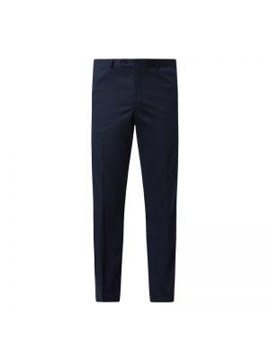 Niebieskie spodnie bawełniane Carl Gross