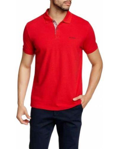 Czerwona koszulka Ben Sherman