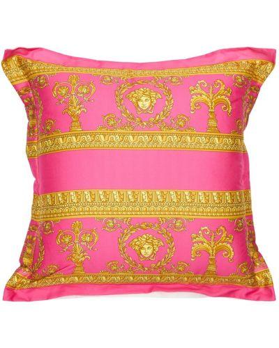 Szlafrok, różowy Versace