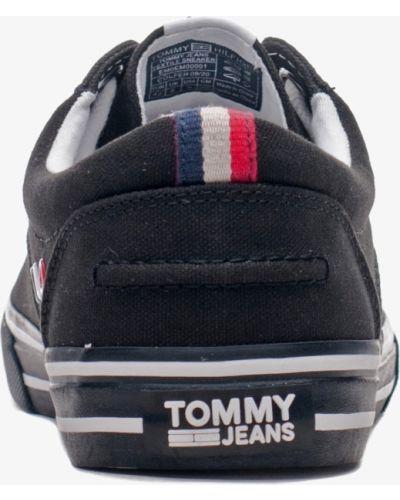Кеды - черные Tommy Hilfiger