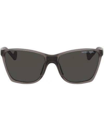 Okulary przeciwsłoneczne tytan biały District Vision