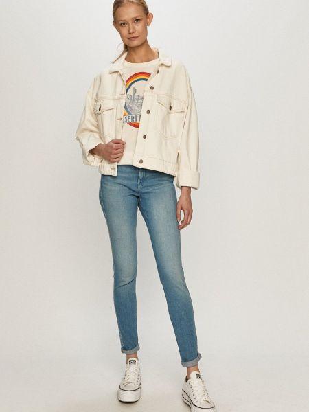Зауженные джинсы-скинни Wrangler