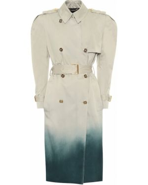 Хлопковое пальто Versace