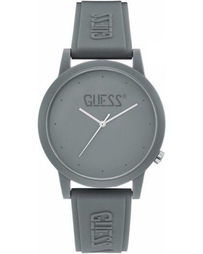 Zegarek kwarcowy silikon klamry Guess