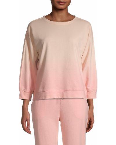 Prążkowana bluza dresowa bawełniana z printem Beach Lunch Lounge