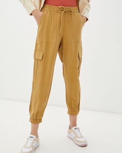 Бежевые брюки карго Zolla