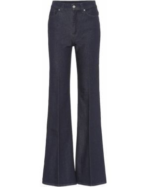 Расклешенные джинсы свободные mom 7 For All Mankind