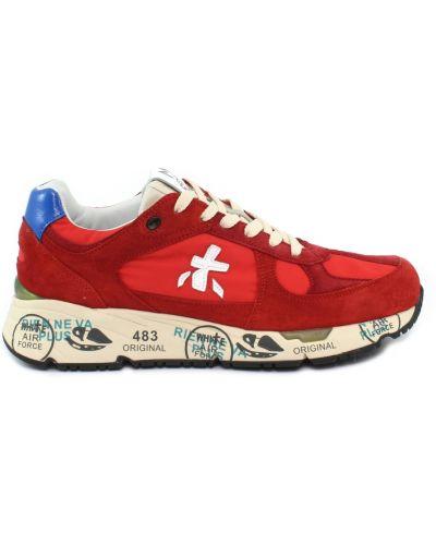 Czerwone sneakersy Premiata