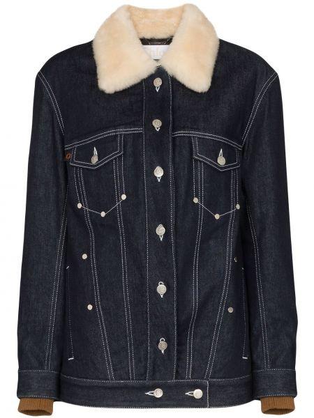 Джинсовая куртка синий Chloé