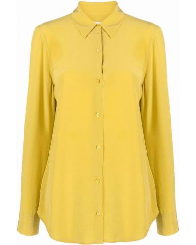 Рубашка с длинным рукавом - желтая Equipment