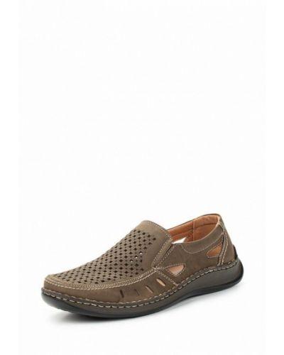 Коричневые туфли из искусственной кожи Go.do.