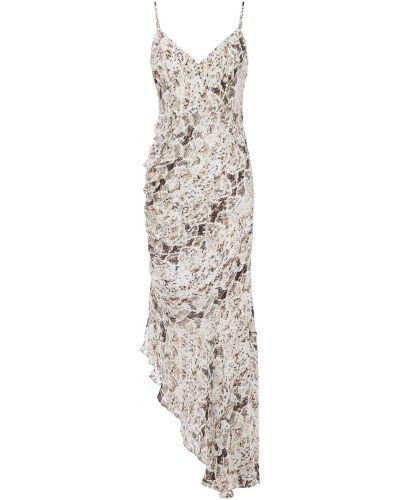 Шелковое платье - белое Nicholas