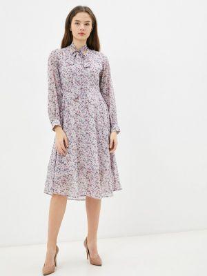 Прямое платье - фиолетовое Imocean
