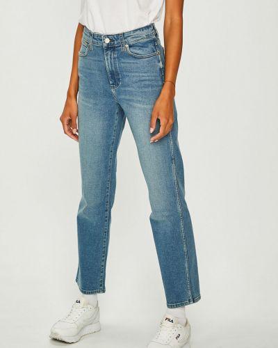 Прямые джинсы синие на пуговицах Wrangler