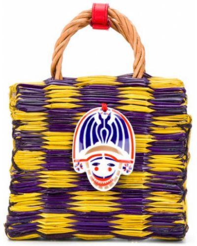 Фиолетовая сумка-тоут Heimat Atlantica