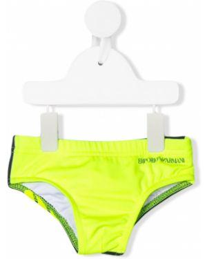 Kąpielówki - żółte Emporio Armani Kids