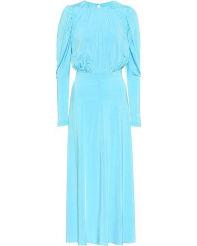 Niebieski sukienka midi rozciągać Rotate Birger Christensen