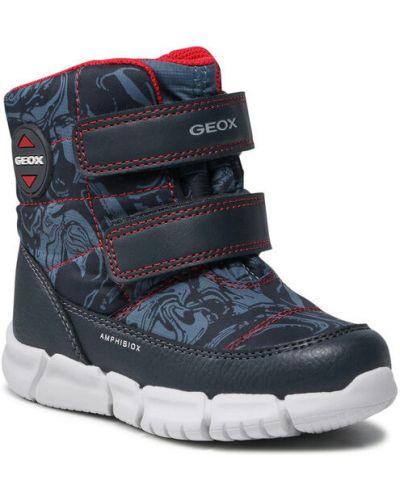 Sneakersy granatowe Geox