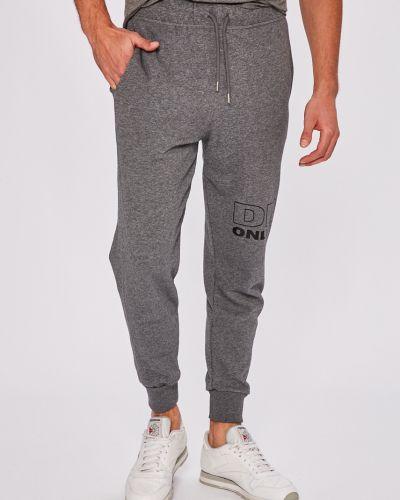 Спортивные брюки на резинке из полиэстера Diesel