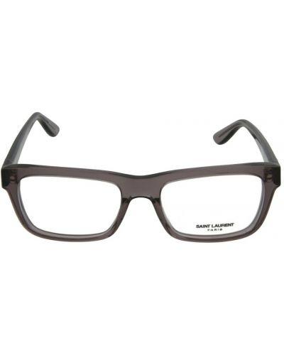 Fioletowe okulary Saint Laurent