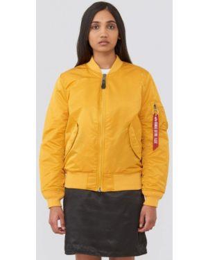 Утепленная куртка - желтая Alpha Industries
