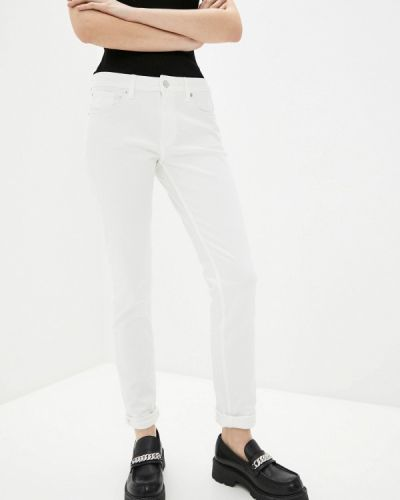 Зауженные джинсы - белые Q/s Designed By