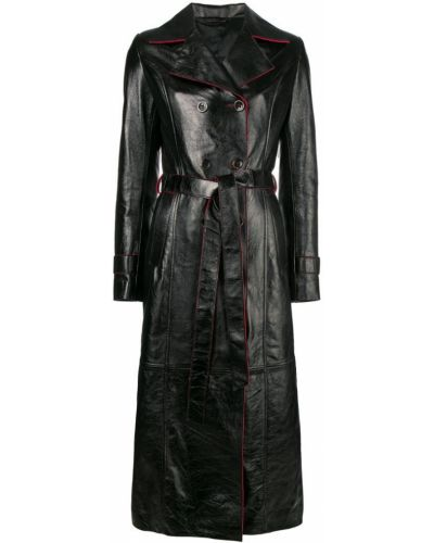 Черное пальто Manokhi