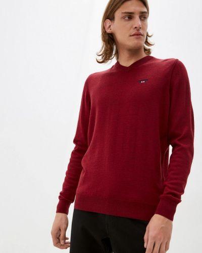 Бордовый пуловер Galvanni
