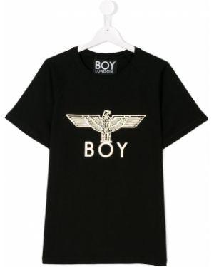 Черная рубашка Boy London Kids